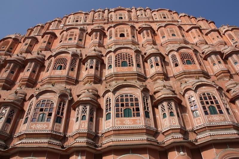 12_Indien__Jaipur__Palast_der_Winde