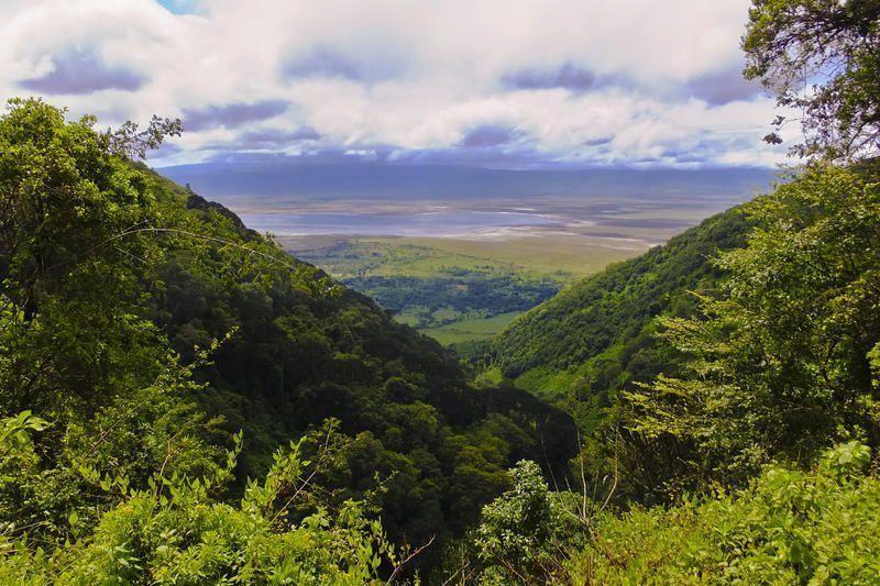 Tansania-Landschaft